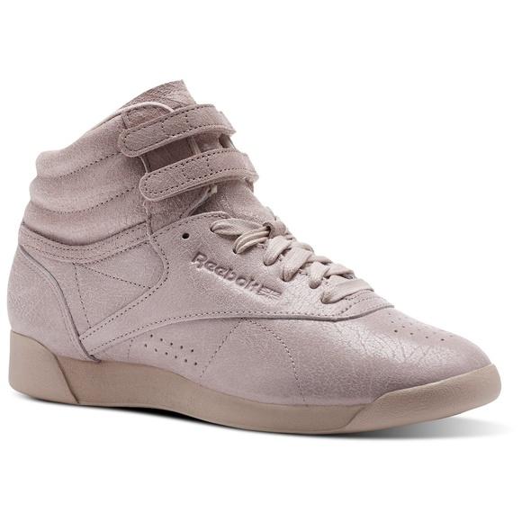 781895f93be Reebok Women s Freestyle Hi FBT Sneakers